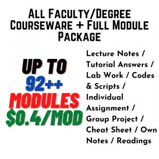 A+ University Courseware Bundle